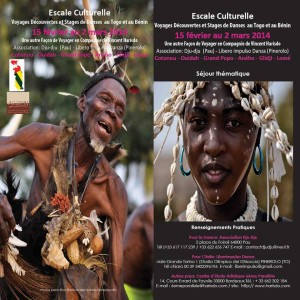 Escale culturelle : stage de danse au Bénin et au Togo