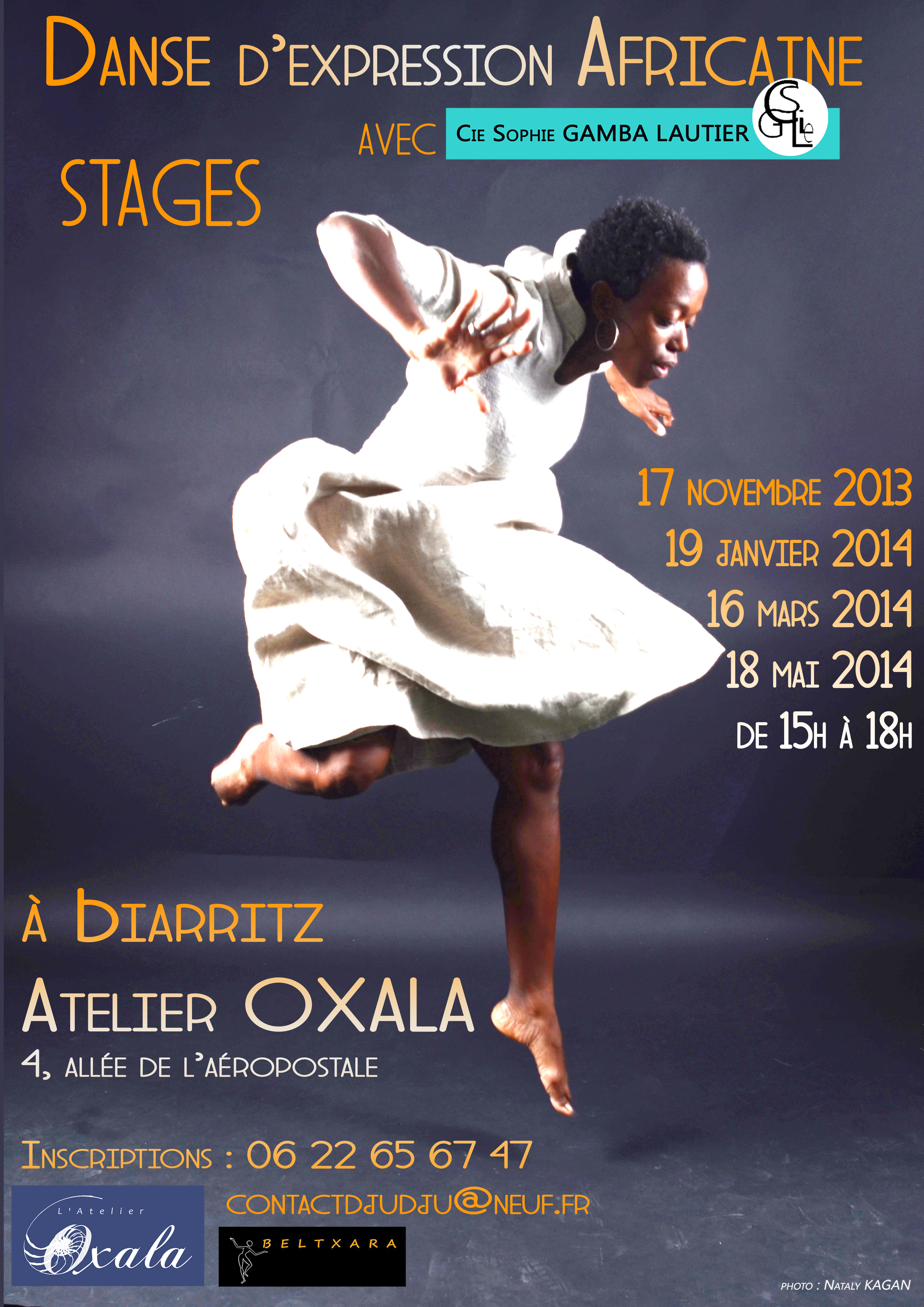 Cycle de stages de danse africaine Biarritz