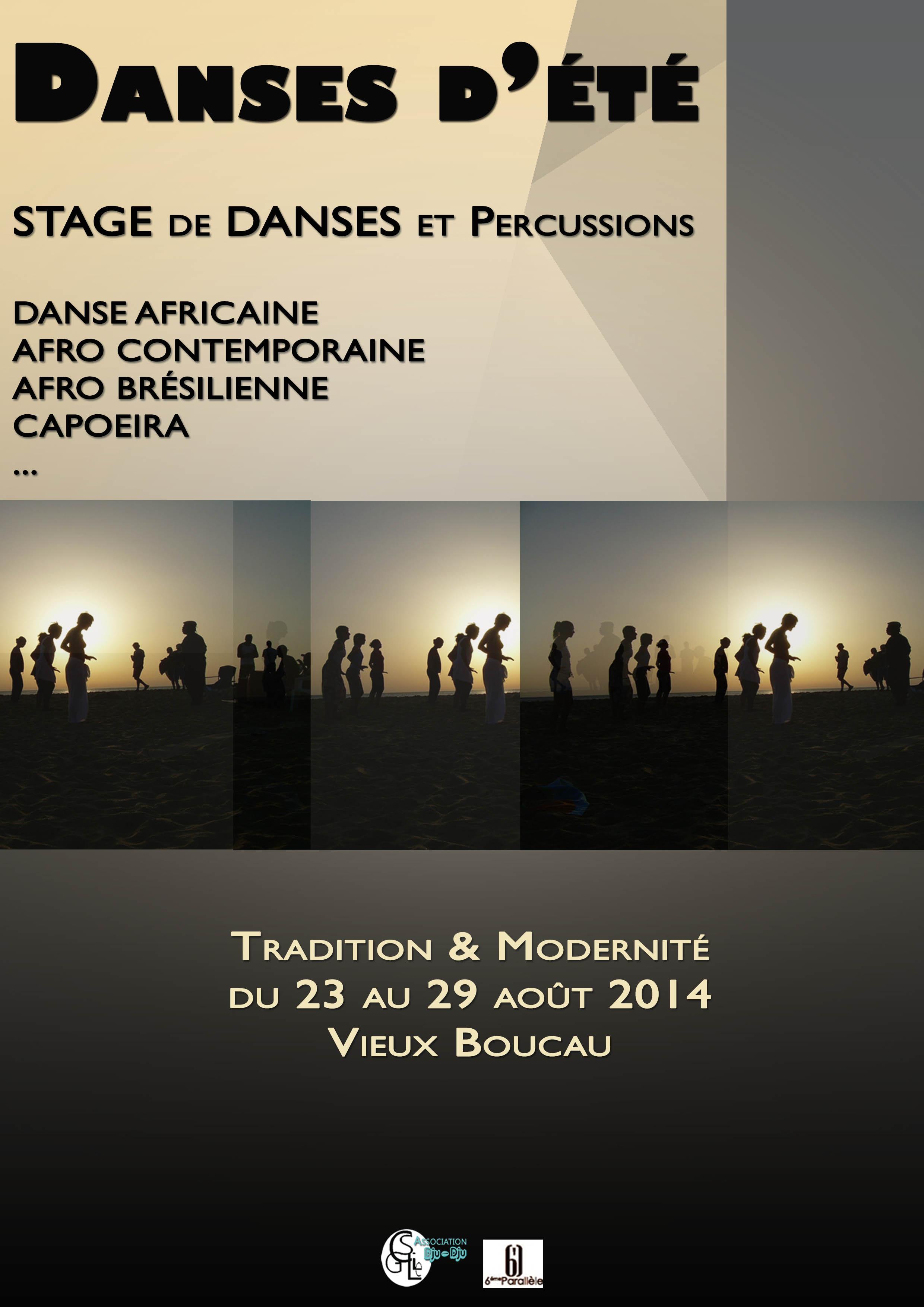 Stage d'été 2014 à Vieux Boucau sous la direction de Vincent Harisdo