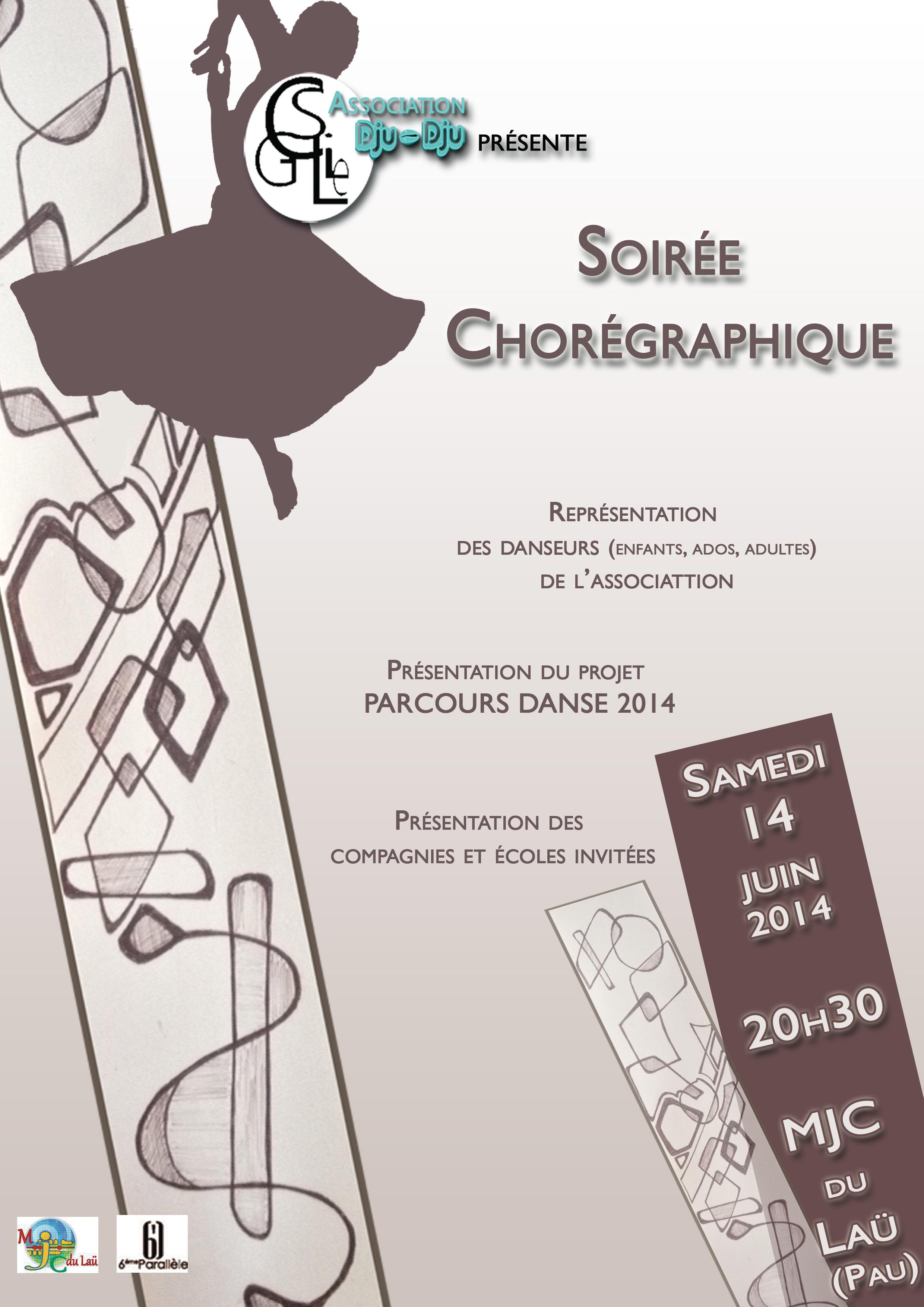 Soirée Chorégraphique - samedi 14 juin 2014