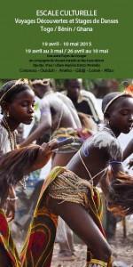Escale culturelle - voyage et stage de danse - Bénin/Togo/Ghana
