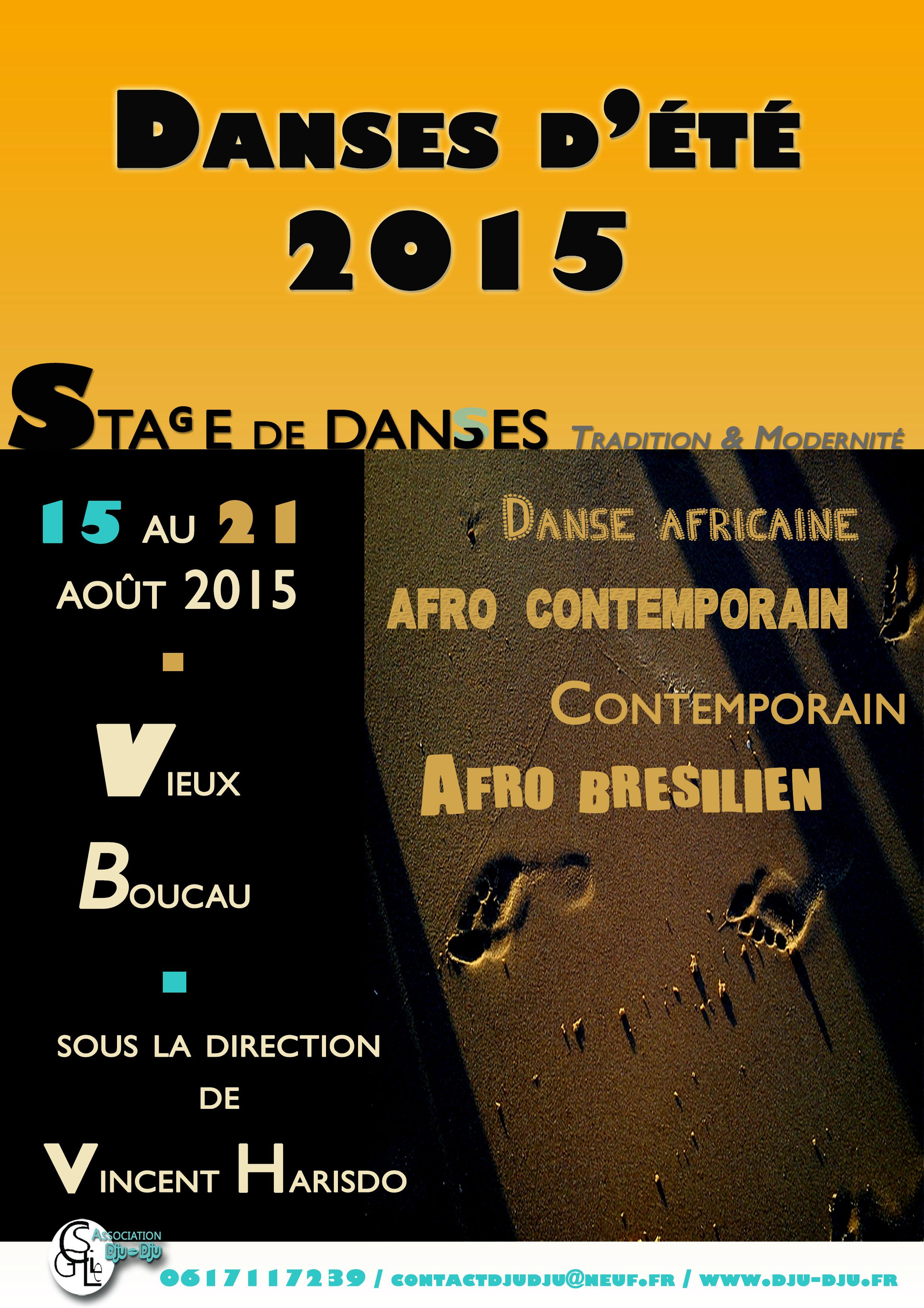 Danses d'été 2015