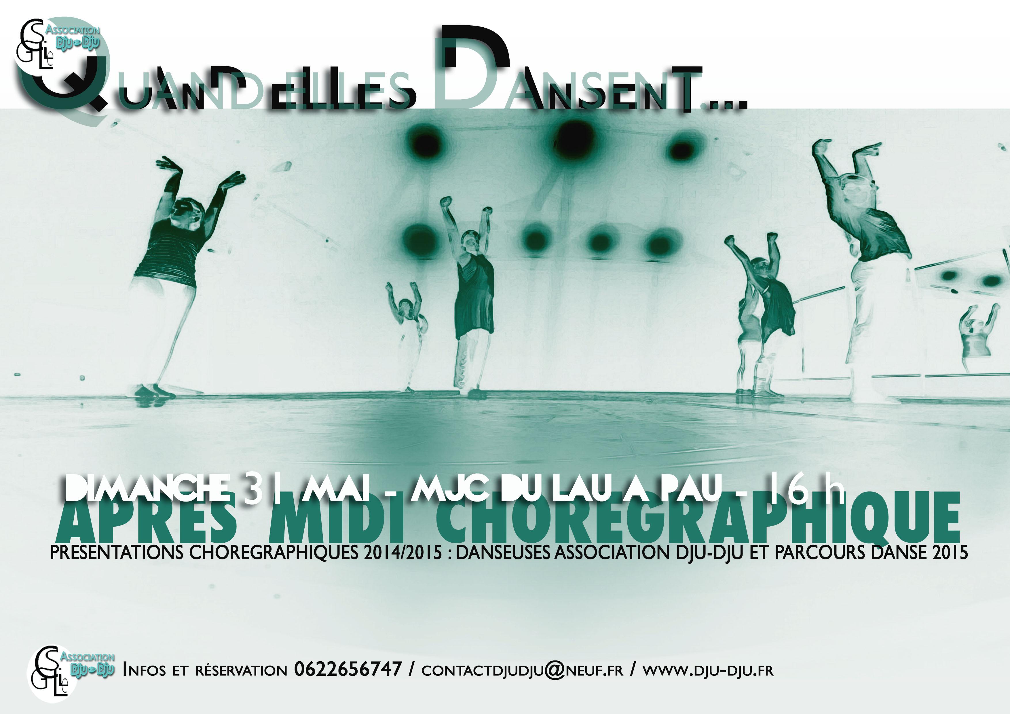 """""""Quand elles dansent..."""" présentations chorégraphiques de fin d'année"""