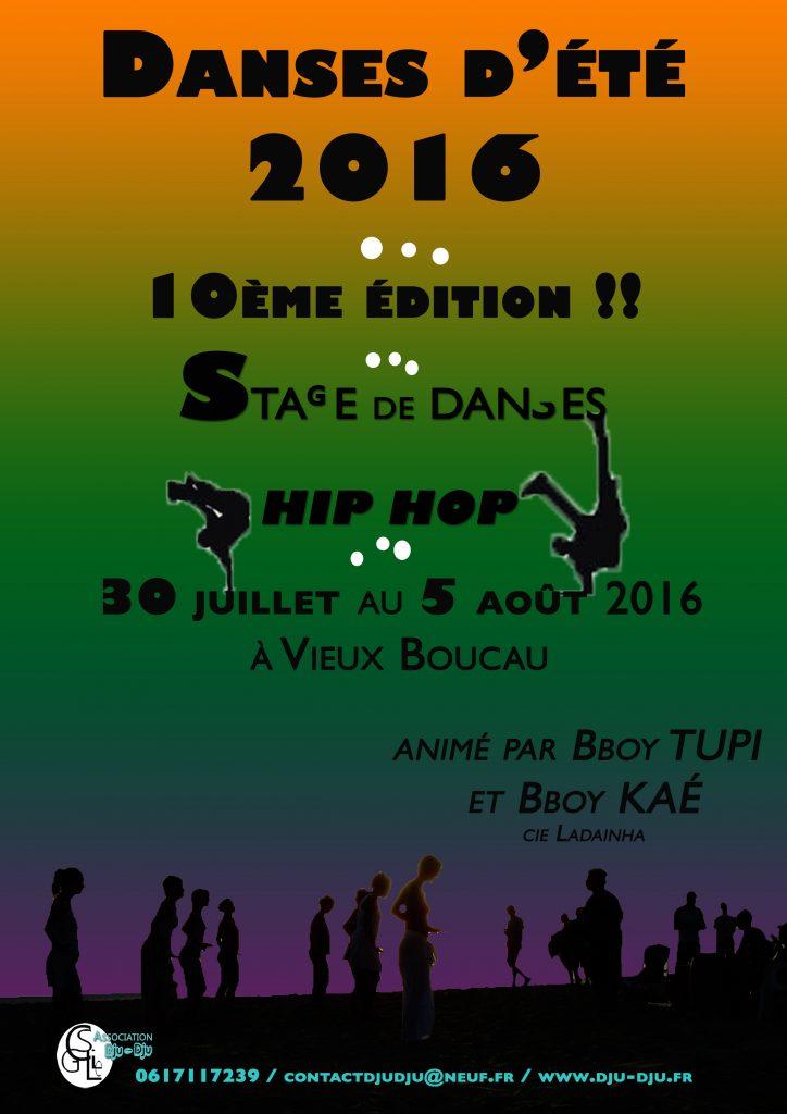 Danses d'été 2016, la 10ème : le hip hop