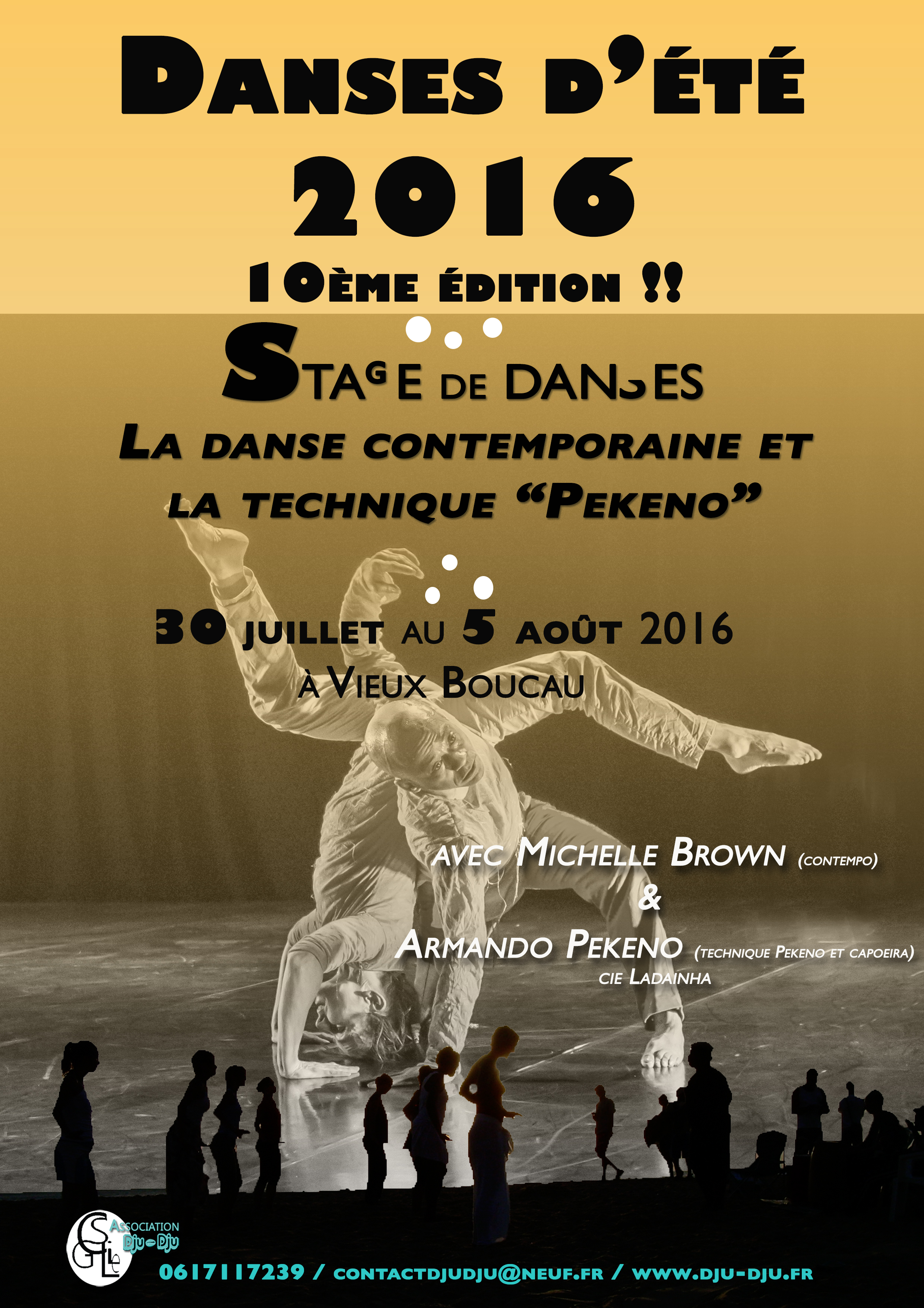 """Danses d'été 2016, la 10ème : le contempo et la technique """"Pekeno"""""""