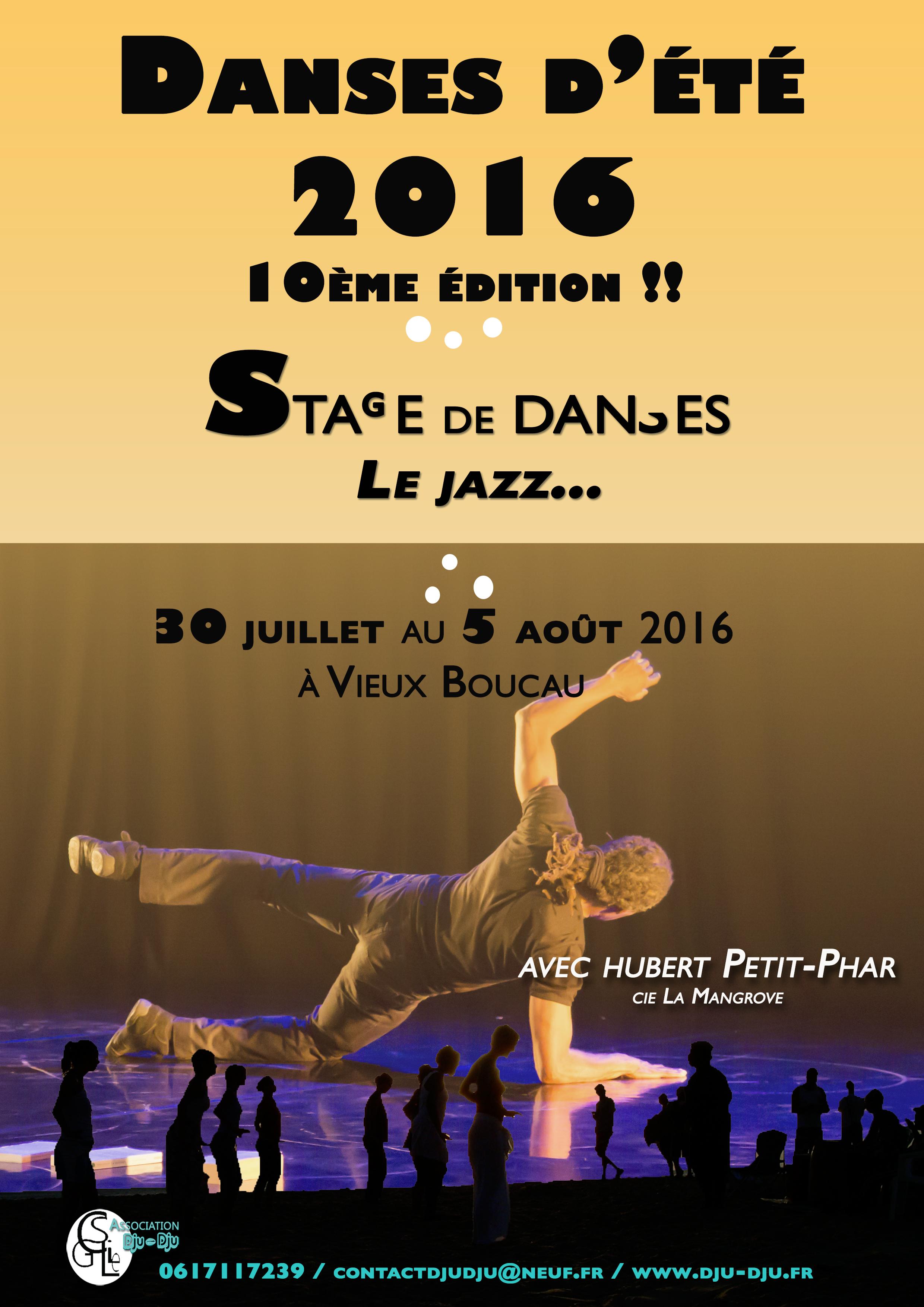 Danses d'été 2016, la 10ème : le jazz