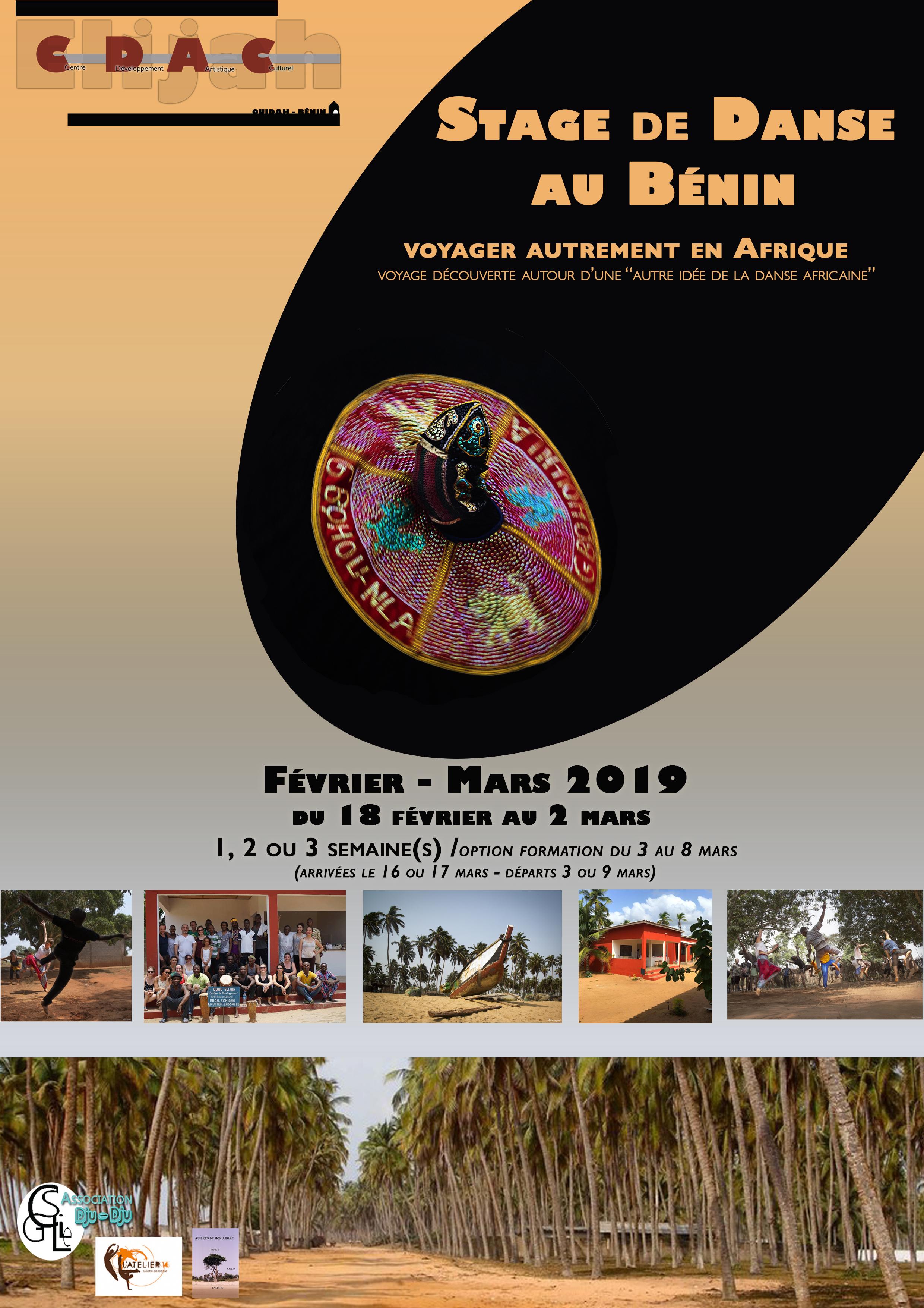 Stage de danse au Bénin : voyager autrement en Afrique (fév. /mars 2019)