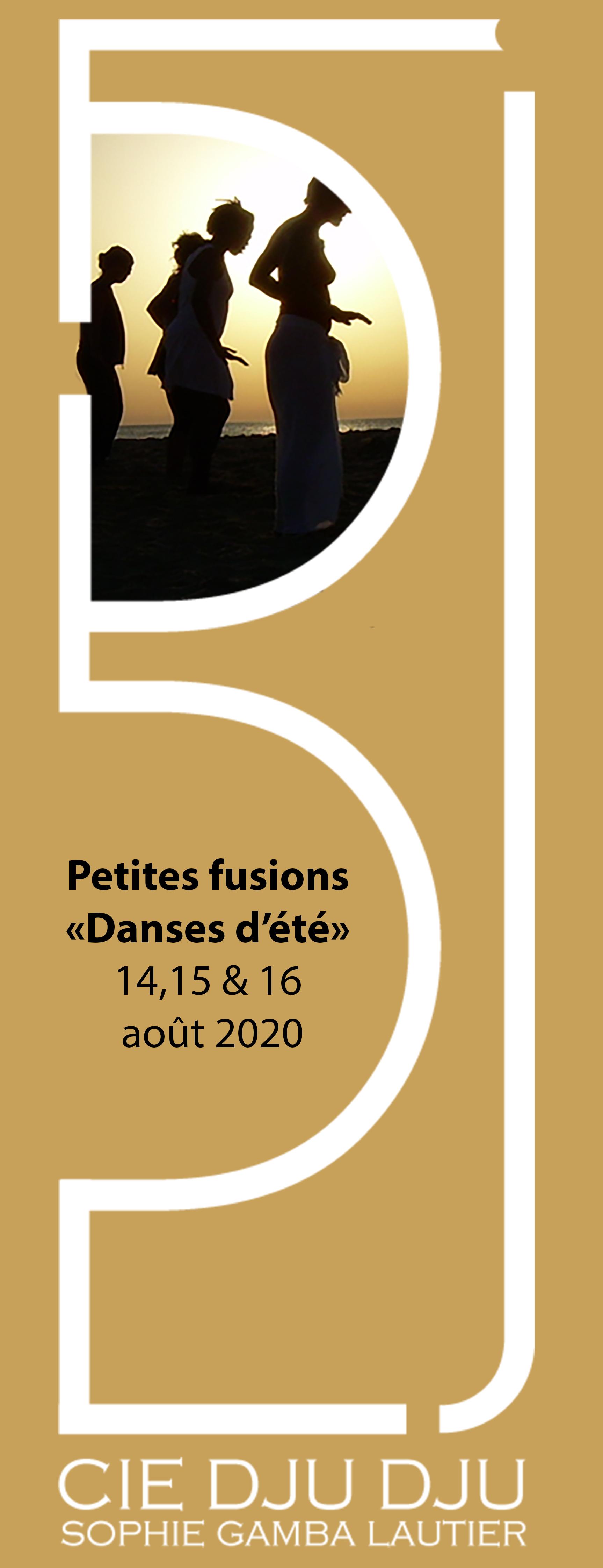 """Petites fusions """"Danse d'été2020"""""""